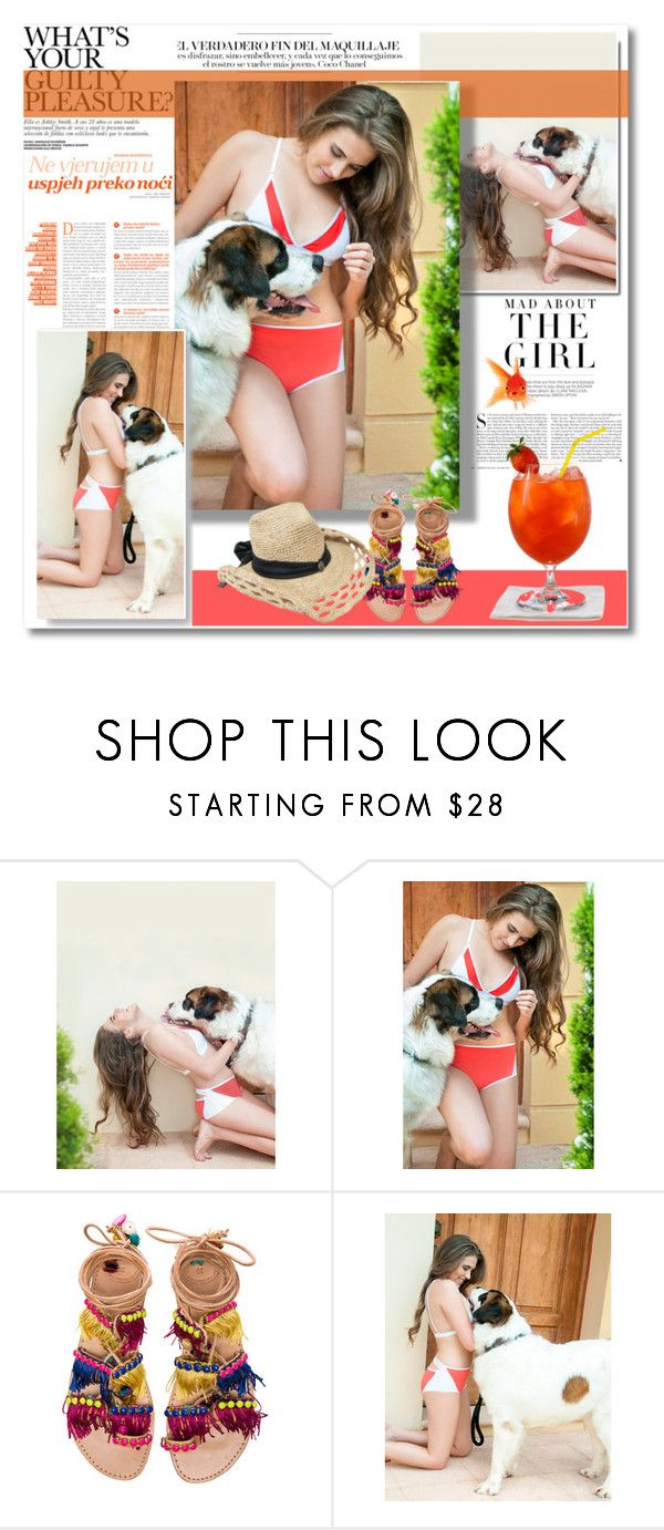 """""""Ready for summer!"""" by mellie-m ❤ liked on Polyvore featuring Kershaw and Elina Linardaki"""