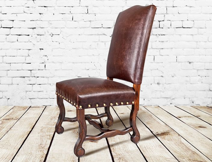 Beautiful Rustic Transitional Furniture   Fill Your Home With Refined Rustic  Furniture. Solid Wood Dining TableRustic Dining RoomsLeather Dining ChairsWood  ...