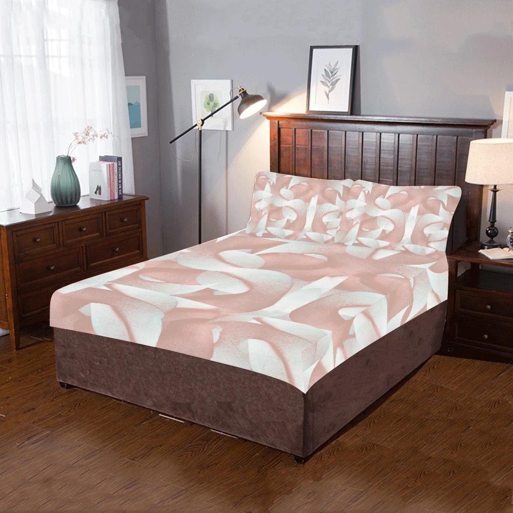 Rose Eunry 3Piece Bedding Set in 2020 Bedding set, Dust
