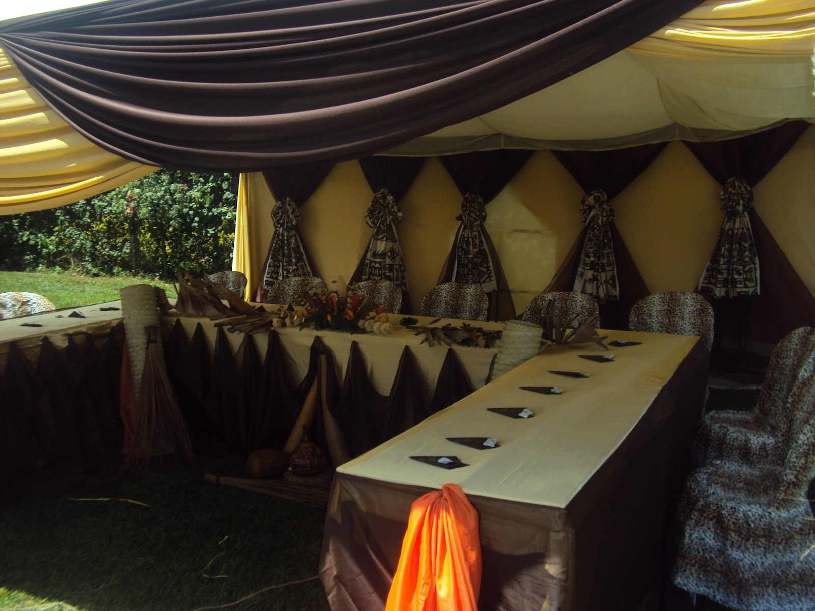 Wazzy thoughts the latest in african themed weddings part