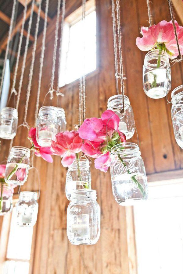 Blumendeko Hochzeit (2) Hochtzeitsideen Pinterest Gläser