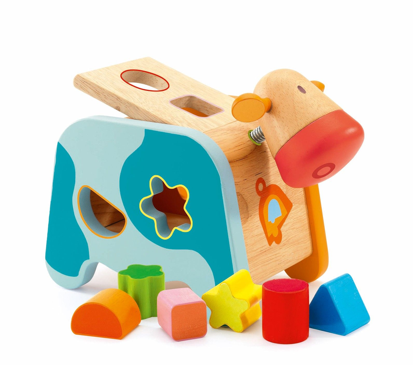 Maggy Shape Sorting Box Cow 0 2 Years Age