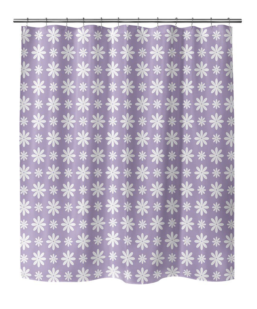 Lavender Shower Curtains Flower Shower Lavender Shower Curtain By Terri Ellis In 2019