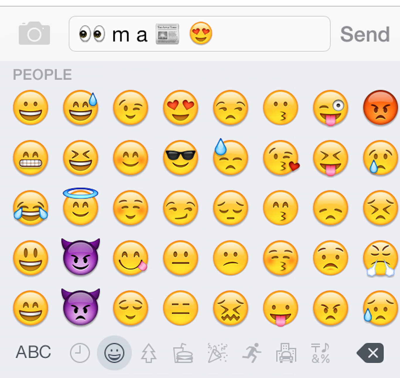 what does upside down smiley emoji mean