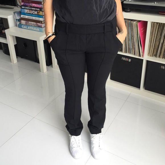 Alexander wang wool trousers Black trousers. Alexander Wang Pants Trousers