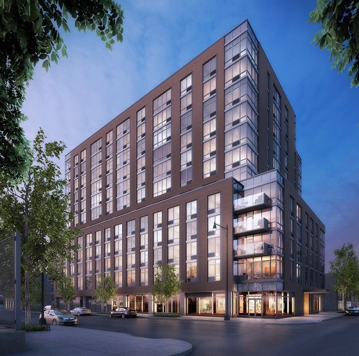 A Modern Luxury Rental Building, The Maximilian Is A