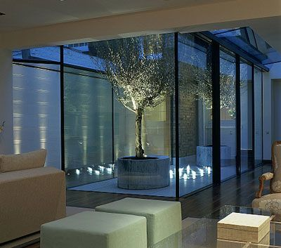Fibre optics in light well john cullen · garden lighting ideasoutdoor