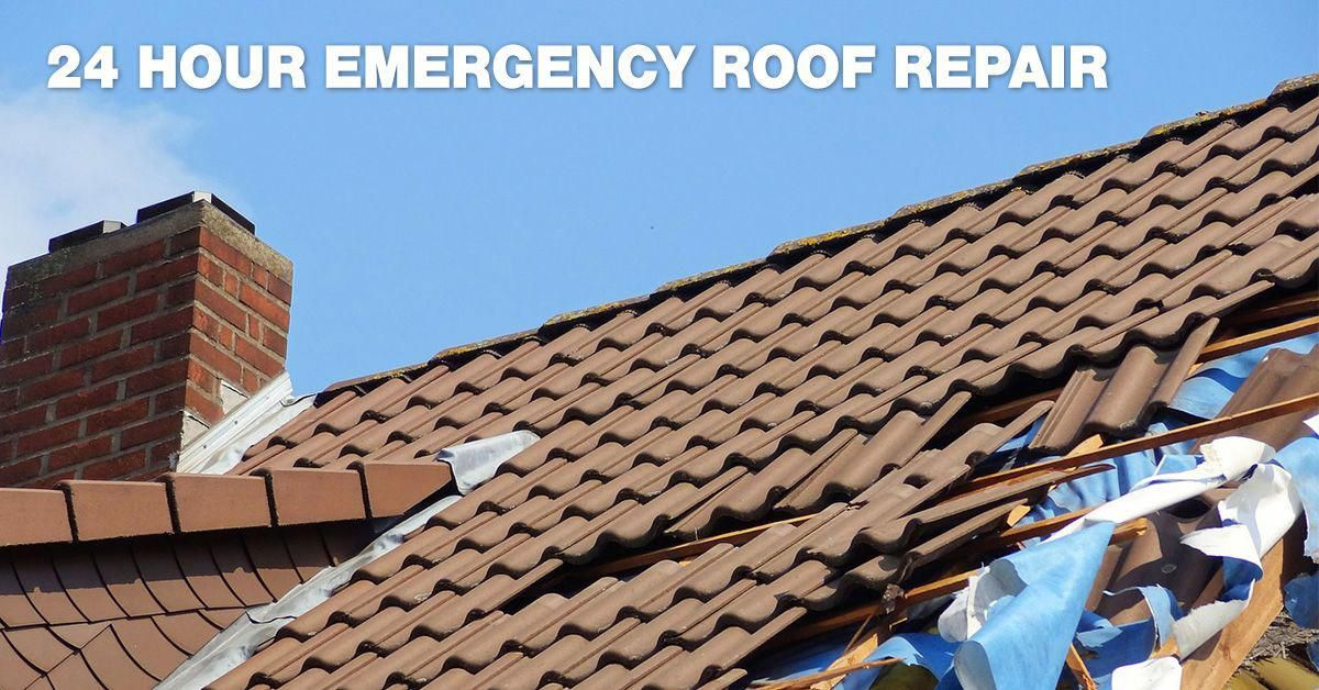 How To Get 24 Hour Emergency Roof Repairs? Roofing