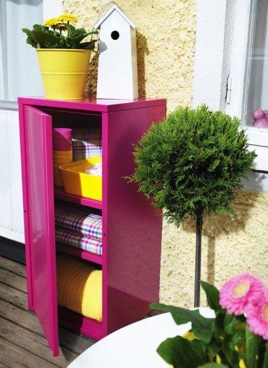 Terrasse Balkon Die Bunte Seite Des Sommers Josef Bild 3 Ideen Ikea Outdoor Und Balkonschrank