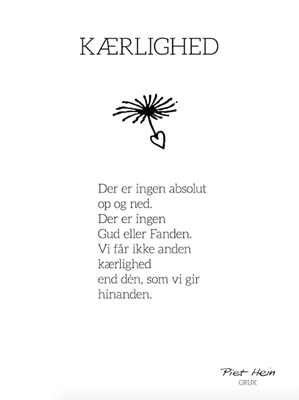 piet hein citater om kærlighed piet hein digte   Google søgning | Sayings, quotes, greatings and  piet hein citater om kærlighed