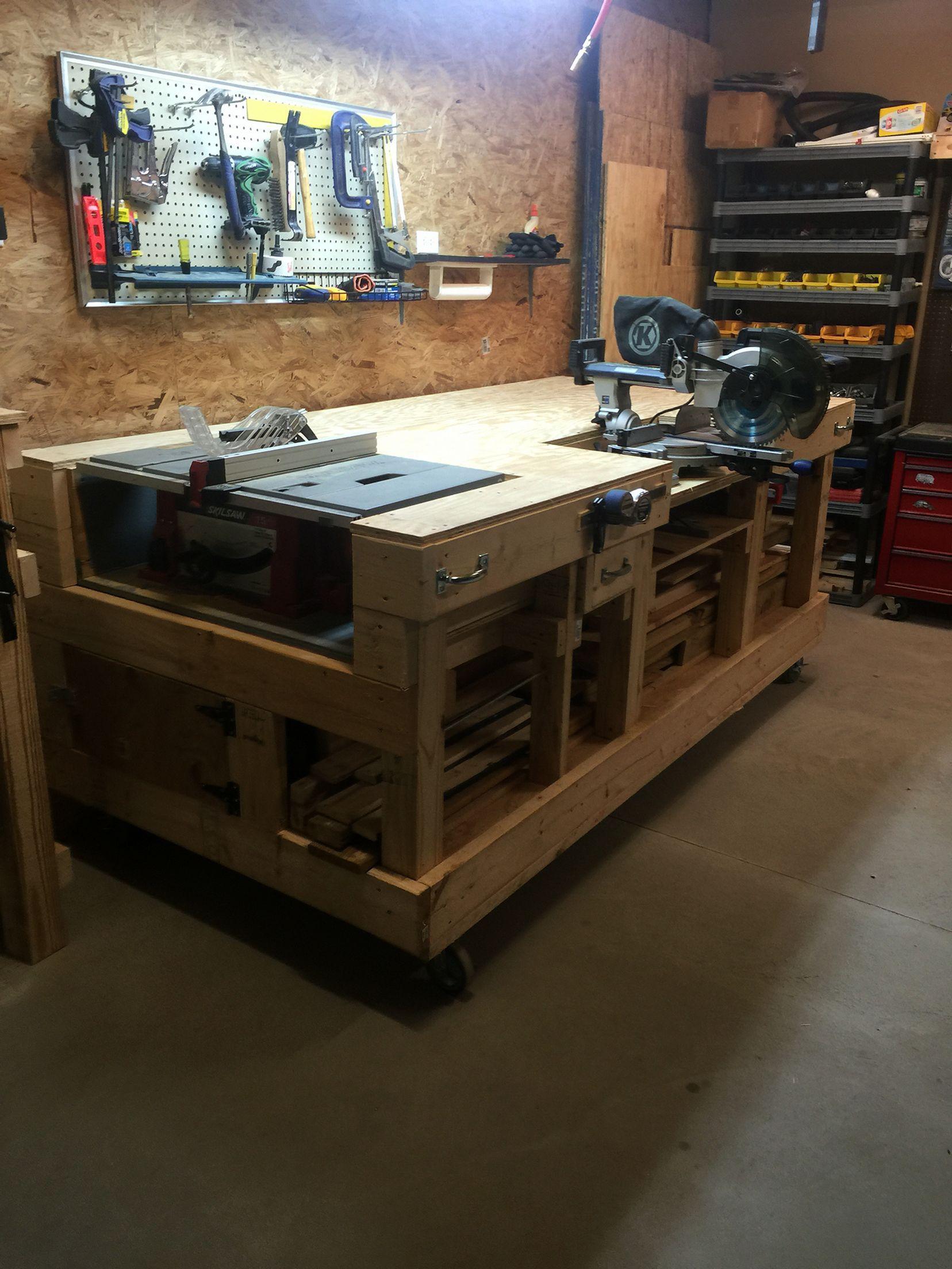 Good Ideas About Garage Workbench No 17