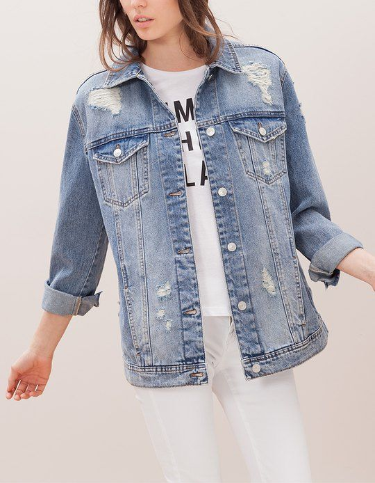 7c94a5e86ad4a At Stradivarius you ll find 1 Oversize denim jacket for woman for just  39.95 € . Visit now to discover this and more MY OWN PRIVATE GARDEN.