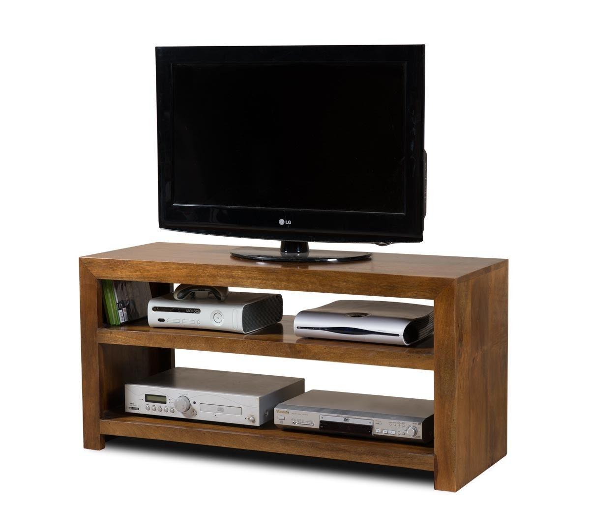 Dakota Mango Wide Hi Fi Shelving Unit 1 Furniture Pinterest  # Hifi Furniture Wood High Quality