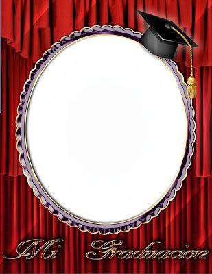 Marco digital para fotos de graduación | Frames
