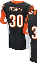 "$78.00--Cedric Peerman Jersey - Elite Black Home Nike Stitched Cincinnati Bengals #30 Jersey,Free Shipping! Buy it now:click on the picture, than click on ""visit aliexpress.com"" In the new page."