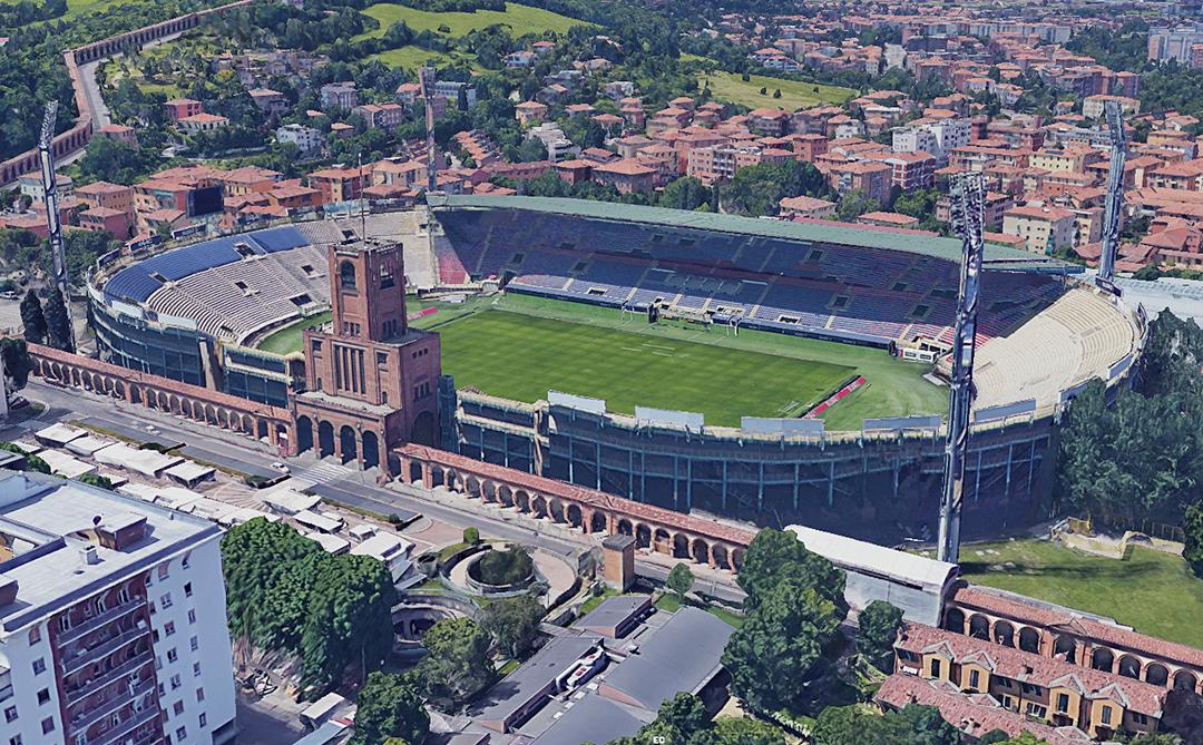 Renato Dall'Ara (Bologna - BO)_2   Stadium, Bologna, Hockey rink