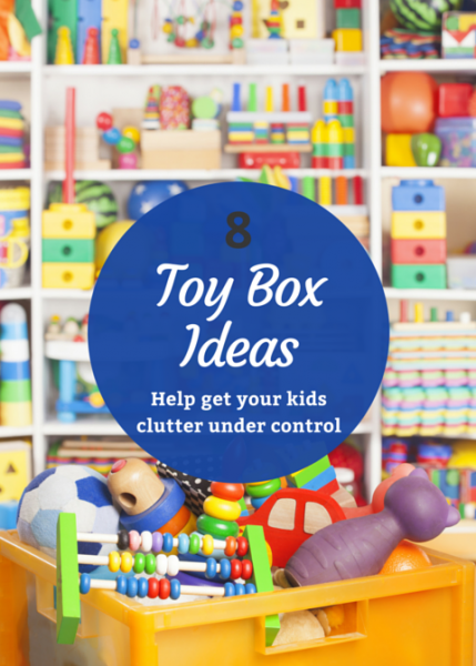 Help Get Your Kidsu0027 Clutter Under Control With These Unique DIY Toy Box  Storage Ideas.