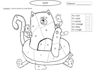 Splat adore jardiner ! Exploitation MS GS | Splat le chat ...