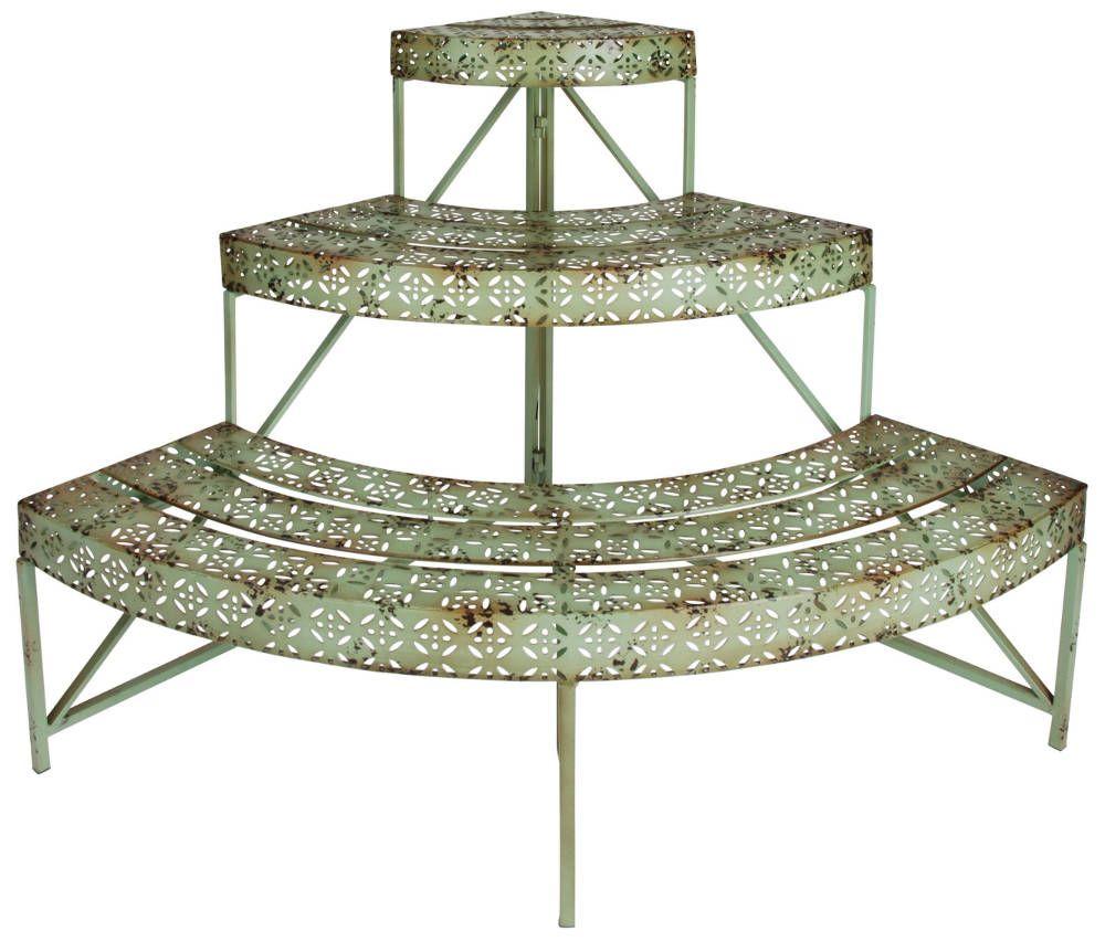 etagere a plantes d angle industrielle