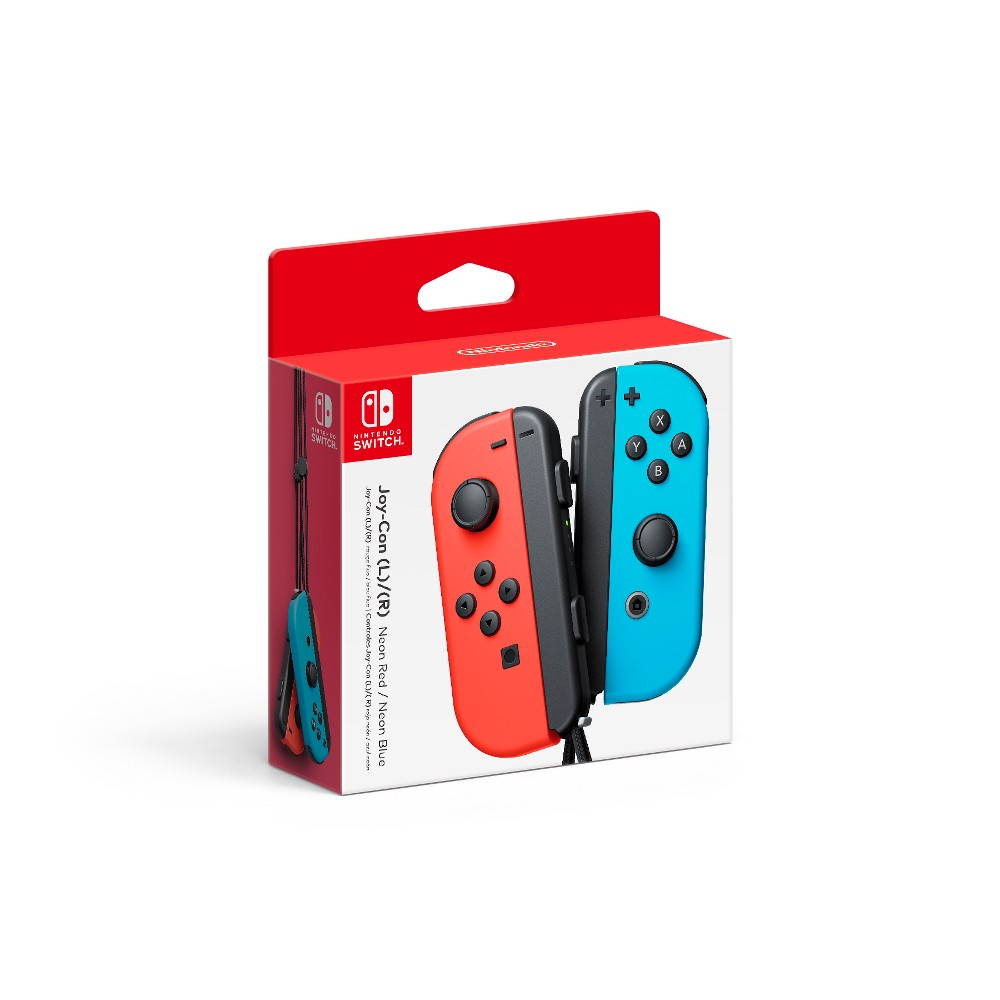 Nintendo Switch Joy Con L R Neon Red Neon Blue Nintendo Switch Accessories Nintendo Switch Neon