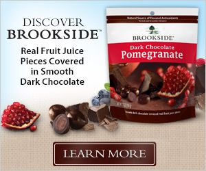 Save up to $2.50 on Brookside products including: Dark Chocolate Acai with Blueberry, Dark Chocolate Pomegranate, Dark Chocolate Goji with Raspberry | Bargain Hound Daily Deals