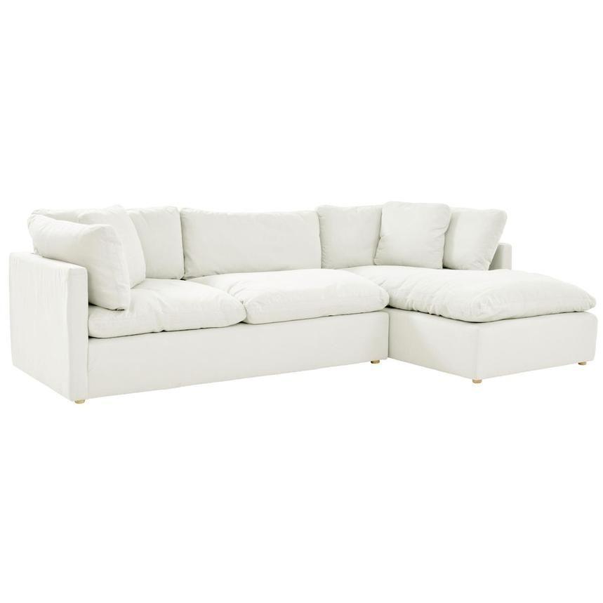 Neapolis White Sofa W Right Chaise Deep Sectional Sofa White Corner Sofas White Sofas