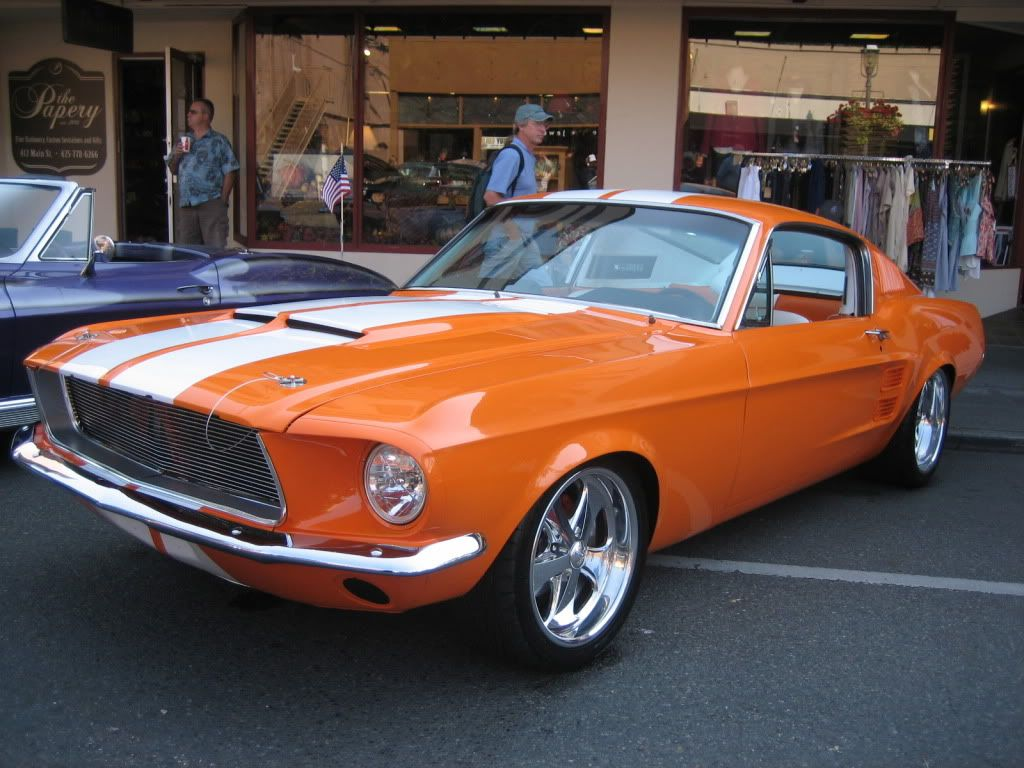 In Case You Missed It This Thing Is Orange Vintage Mustang Mustang Mustang Ii