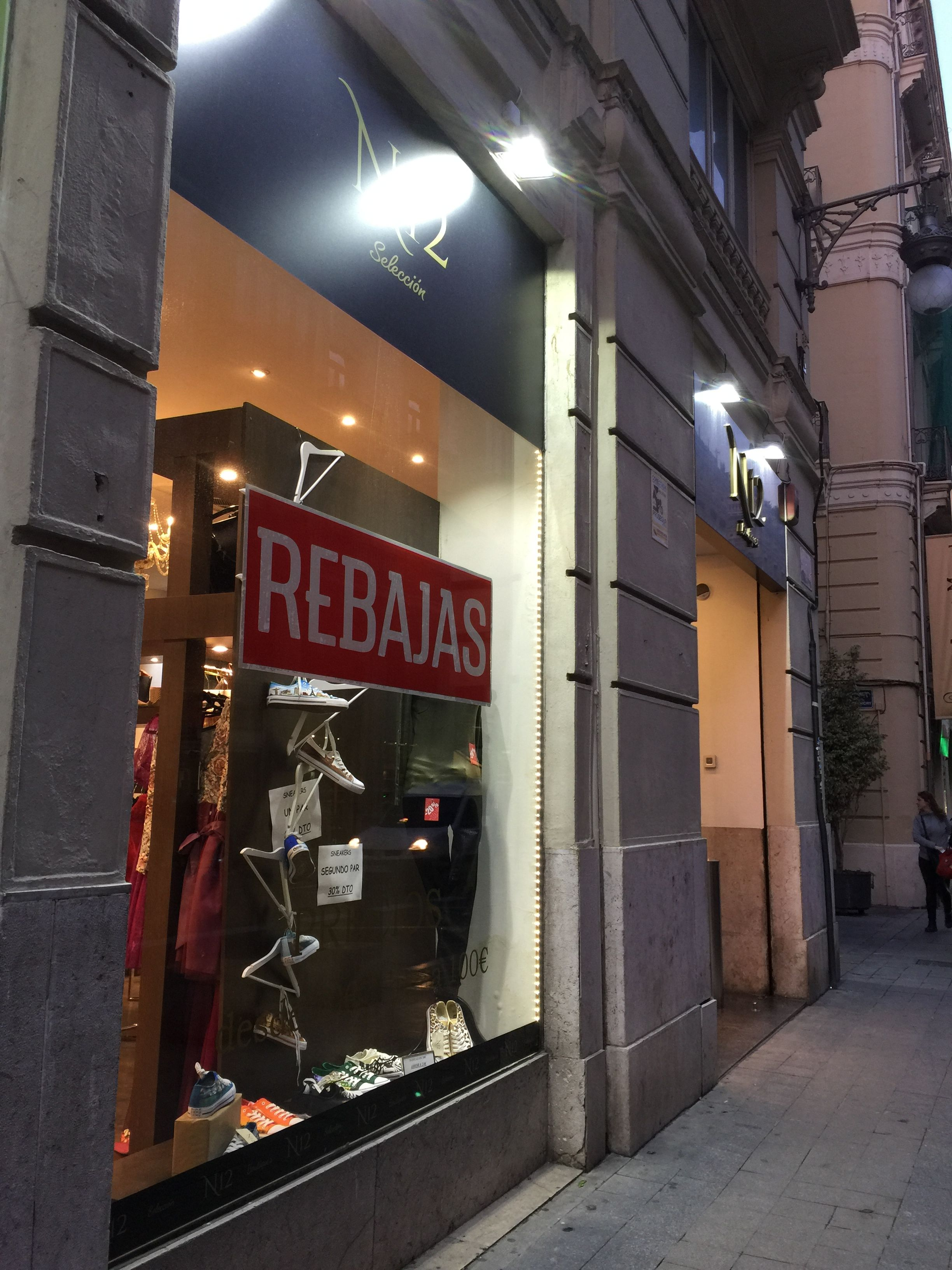 The entire month of January is like one HUGE retail sale in Valencia.