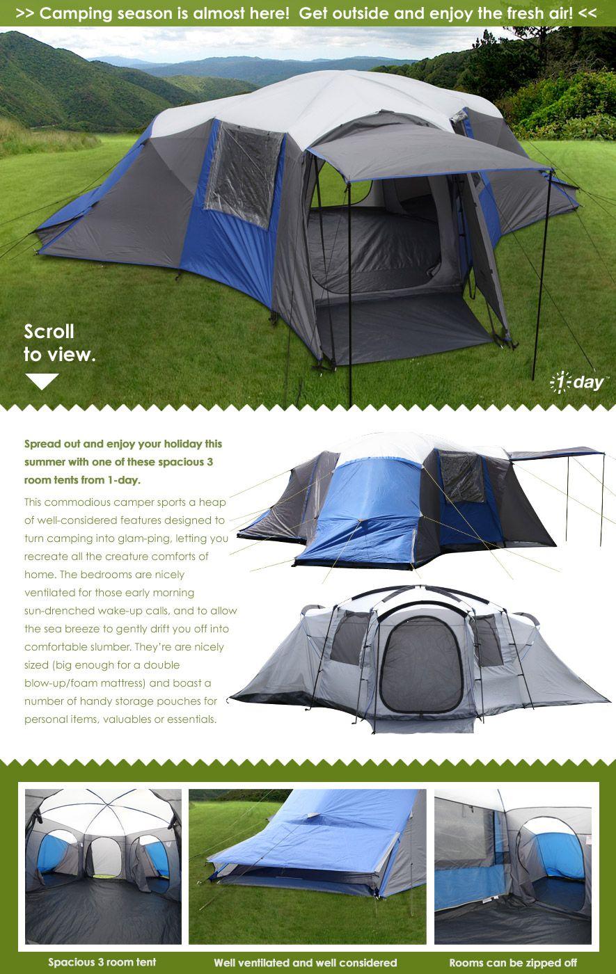 First Light Supreme 3 Room Tent  sc 1 st  Pinterest & First Light Supreme 3 Room Tent | Camping | Pinterest | Tents