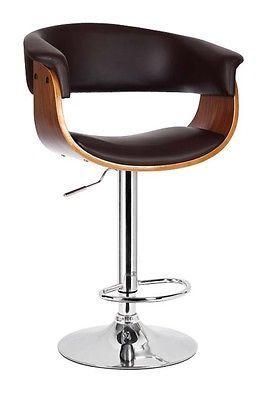 Walnussholzdunkelbraun Barhocker Barstuhl Design Lounge Hocker Neuovp Stuhldesign Barhocker Lounge Hocker Stuhl B Bar Stools Dining Furniture Furniture
