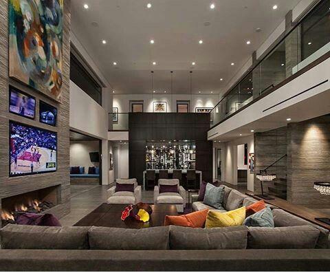 Dise o de interior sala de estar dise o de interiores Diseno de interiores sala de estar