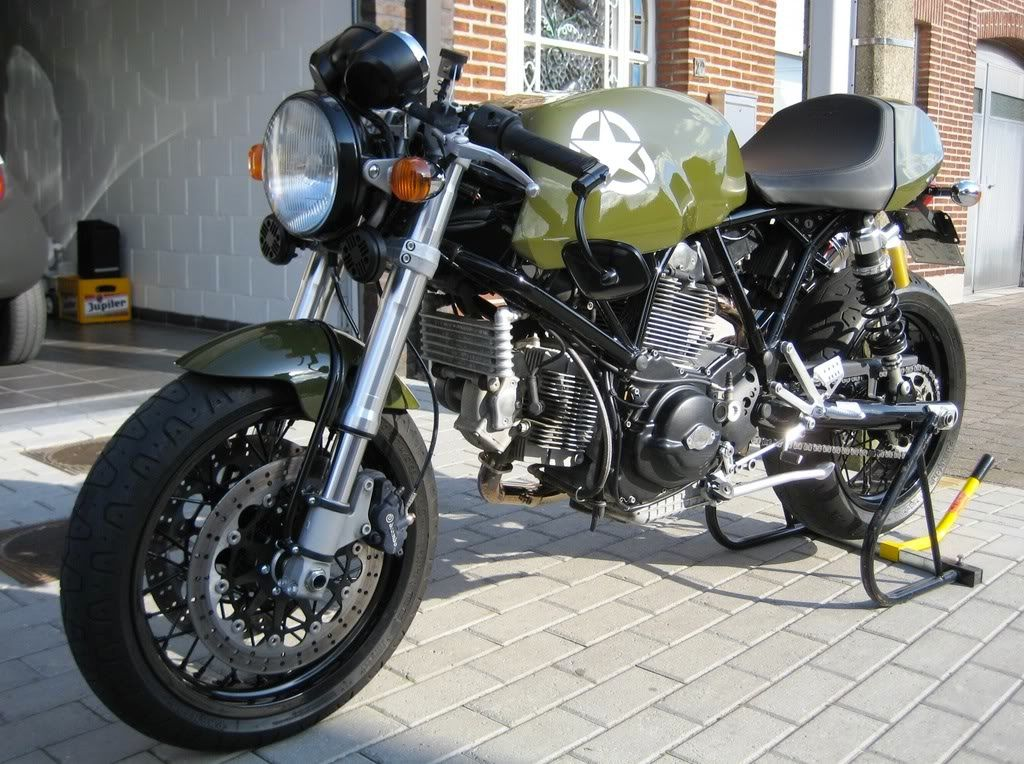 Ducati Monster Olive Green