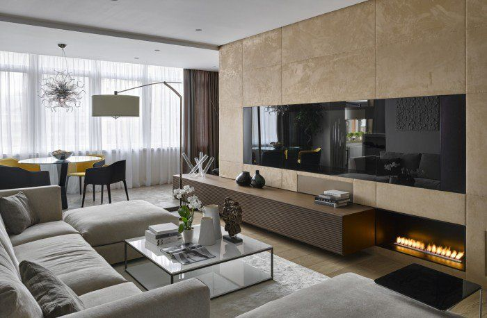 Salon moderne design en 47 idées par Alexandra Fedorova | Salons ...
