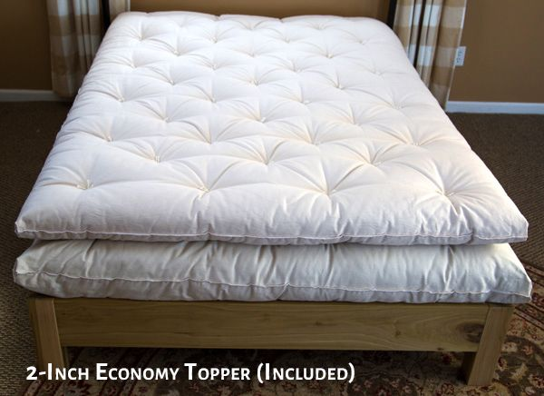 2 Inch Economy Wool Topper And Mattress Wool Mattress Mattress Diy French Mattress