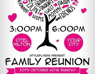 Family Reunion Free Psd Flyer Template Free Download 12061 Free Psd Flyer Templates Free Psd Flyer Psd Flyer Templates