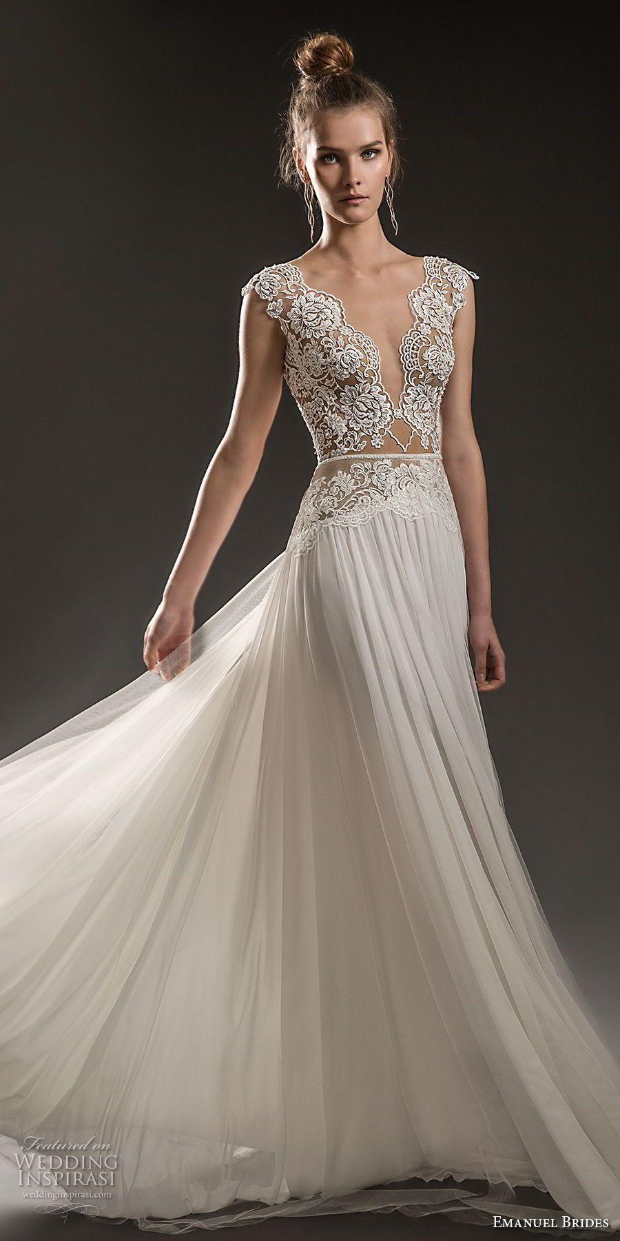 Emanuel brides wedding dresses bodice romantic and wedding dress