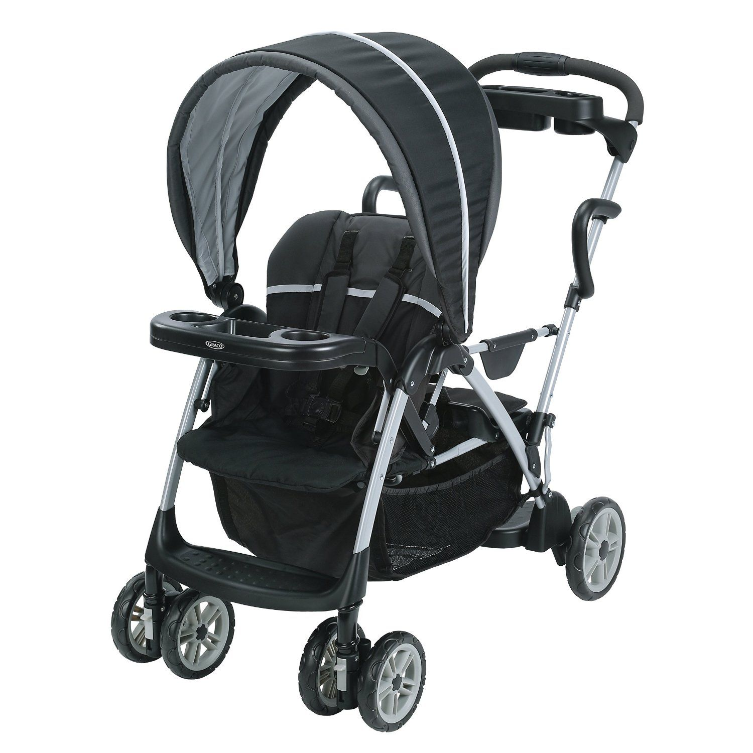 Graco Room For 2 Classic Connect And Click Stand Ride Stroller