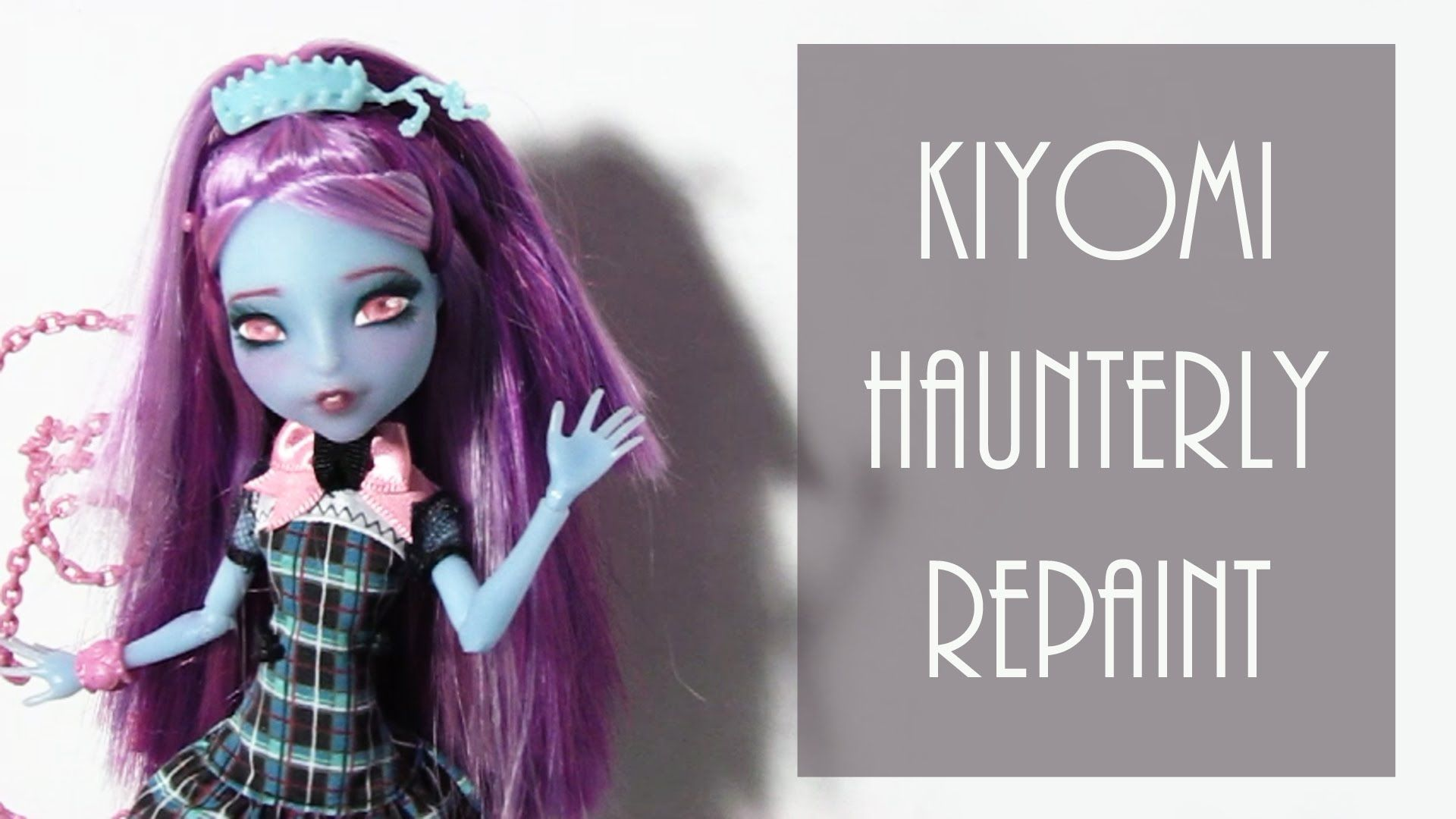 Kiyomi Haunterly Repaint Youtube Chalk Pastels Acetone
