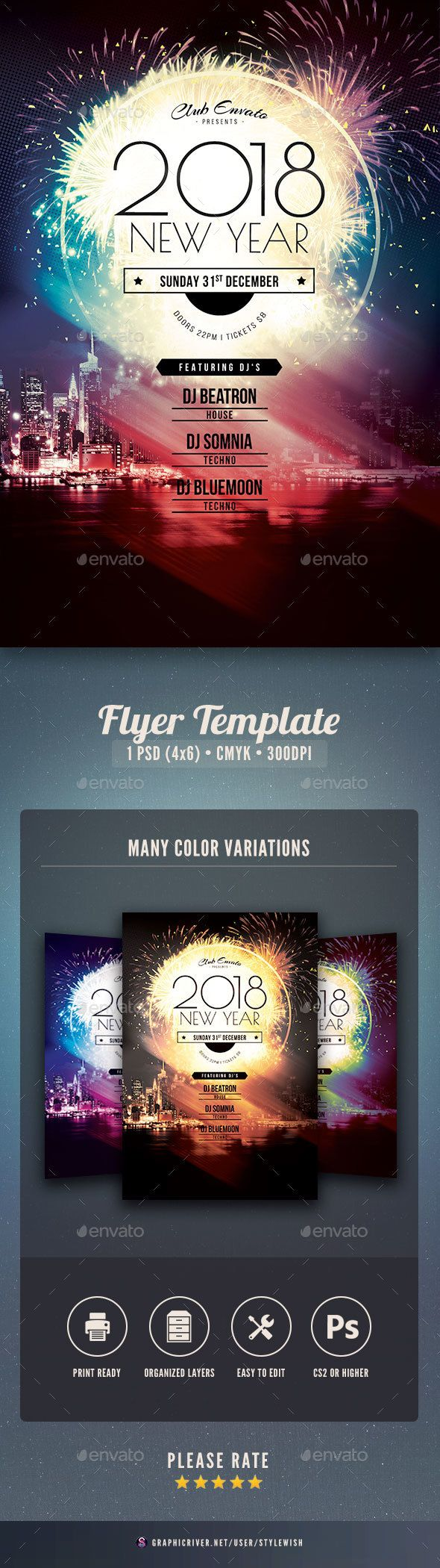 flyer event template