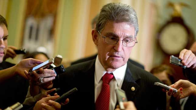 Sen. Joe Manchin said he will vote with GOP against 2014 immigration orders.