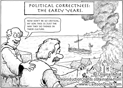 Mad Political Cartoon >> Viking Ship Cartoons Political Correctness Gone Mad Misc