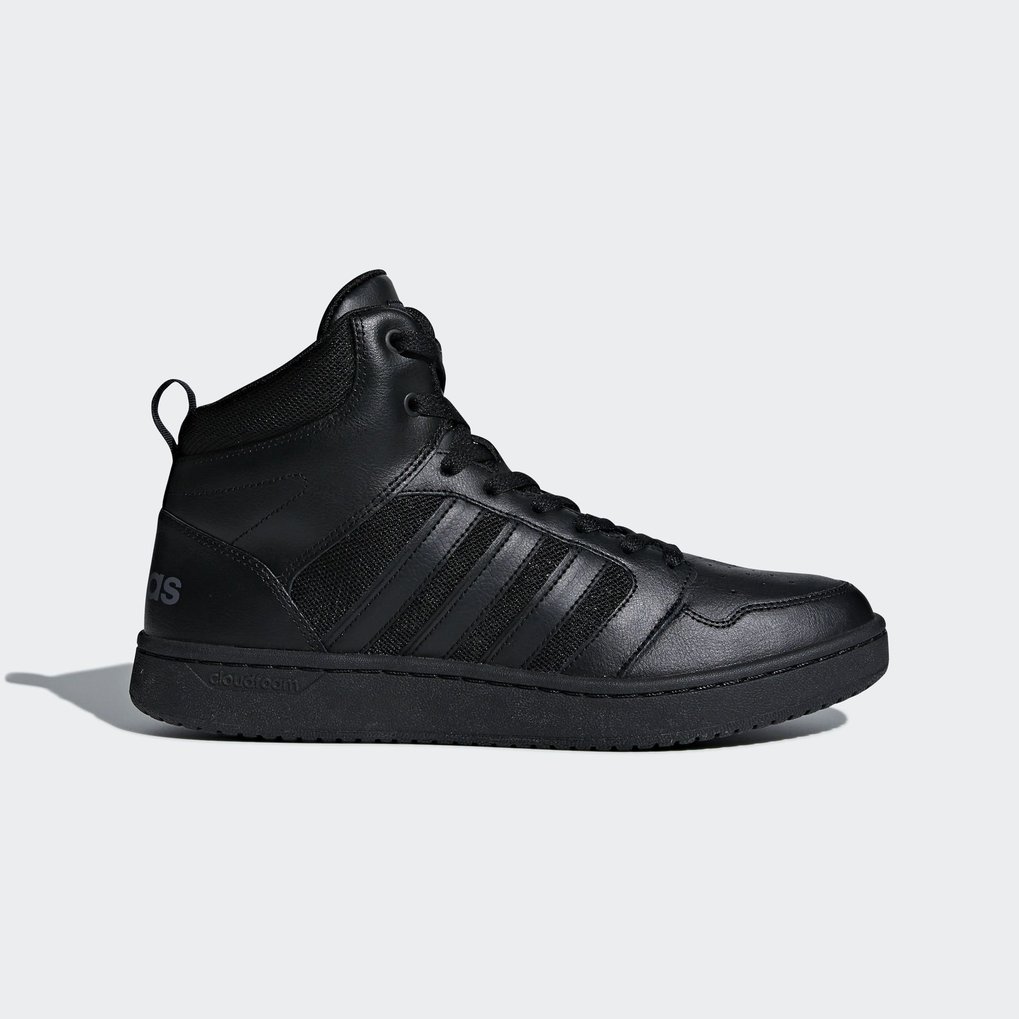 adidas Chaussure Cloudfoam Super Hoops Mid - noir maintenant disponible sur  adidas.fr ! Découvre
