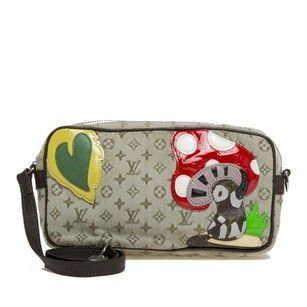 Louis Vuitton Muted Green Clutch