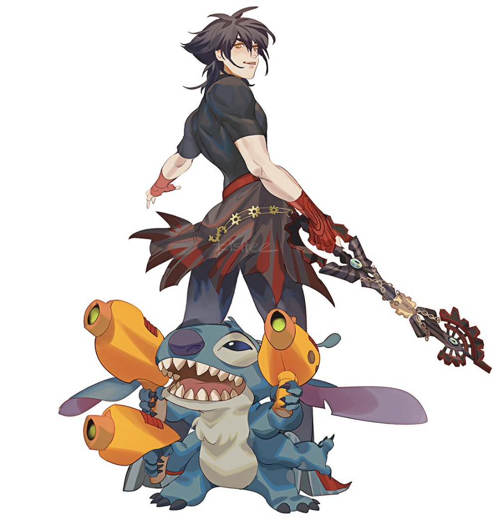 Fishee On Twitter Kingdom Hearts Characters Kingdom Hearts Fanart Vanitas Kingdom Hearts