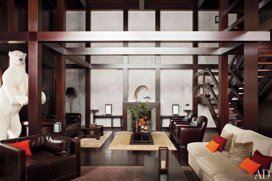 Tour Giorgio Armani S House In Switzerland Modern Room Design Modern Bedroom Design Interior Design