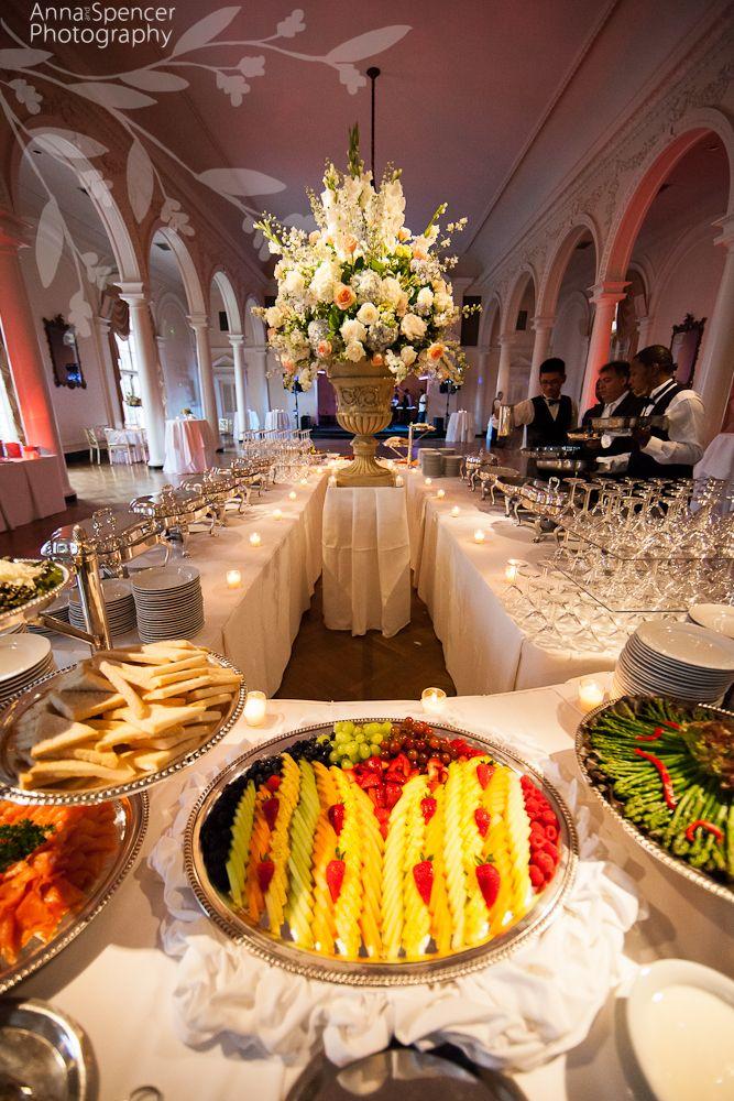 Wedding Reception Buffet At The Piedmont Driving Club In Atlanta