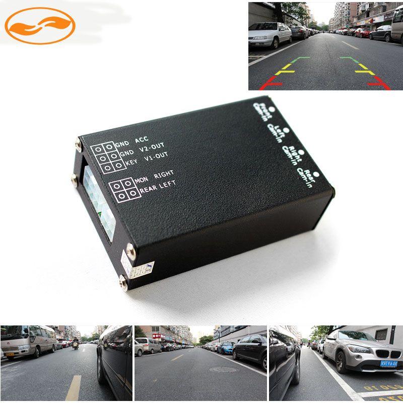 Parking Camera Video Converter Channel Auto Switch Mirror Camera Box