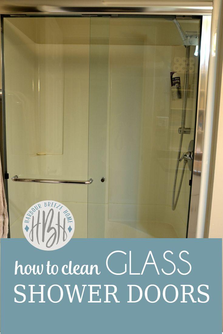 How To Clean Glass Shower Doors With Vinegar And Dawn 3 ways to clean glass shower doors | glass shower doors