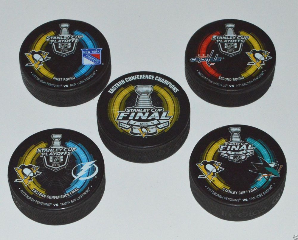 online retailer b8f17 f618c Details about 2016 NHL Stanley Cup Playoffs Pittsburgh ...