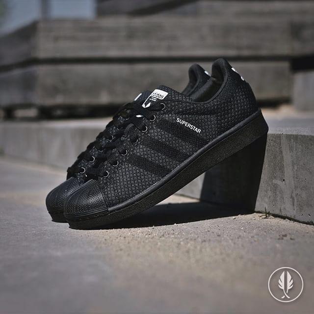Adidas Superstar 80s Primeknit Black  76ddbdd73